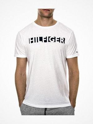 Pyjamas & myskläder - Tommy Hilfiger Premium Tech RN Tee SS  White