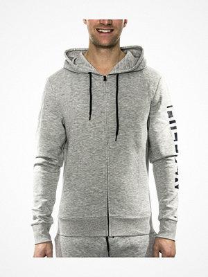 Pyjamas & myskläder - Tommy Hilfiger Premium Tech Zip Thru Hoody  Grey