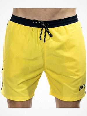 Hugo Boss Starfish Swim Shorts Yellow