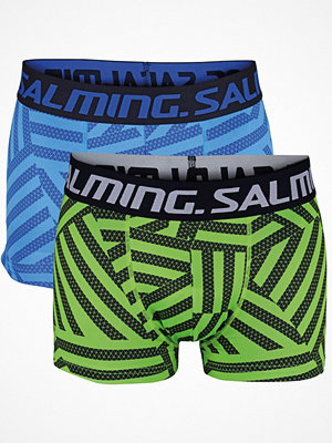 Salming 2-pack Flex Boxer Blue/Green