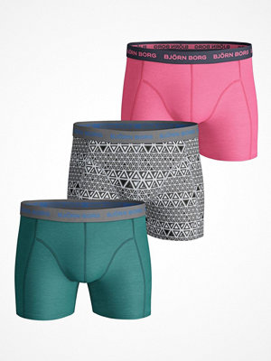 Björn Borg 3-pack Essential Triangline Shorts  Multi-colour