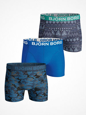 Björn Borg 3-pack Shade And Etno Stripe Shorts Multi-colour