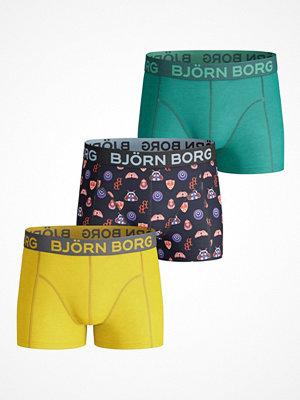 Björn Borg 3-pack Badges Shorts For Boys Multi-colour