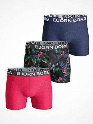 Björn Borg 3-pack Vibrant Leaves Print Shorts  Multi-colour