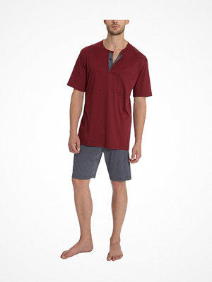 Pyjamas & myskläder - Calida Sidney Short Pyjama Red