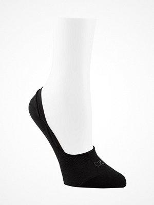 Strumpor - Calvin Klein Aubrie Crystal Logo No Show Socks Black