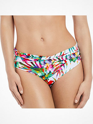 Fantasie Margarita Island Classic Twist Brief White Pattern-2