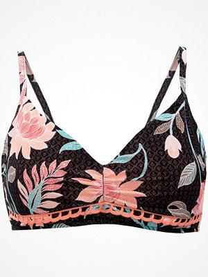 Seafolly Bali Hai DD Cup Bralette Bikini Top Black pattern-2