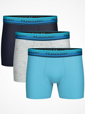 Frank Dandy 3-pack Solid Boxer  Multi-colour