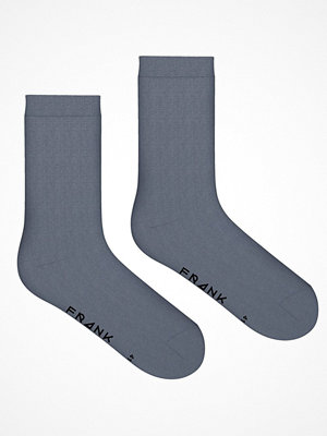 Frank Dandy Solid Crew Sock  Dark Denim