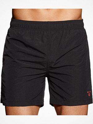 Badkläder - Gant Classic Swim Shorts Black