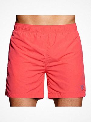 Badkläder - Gant Classic Swim Shorts Coral
