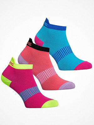 Salming 3-pack Performance Ankle Socks Pink/Blue