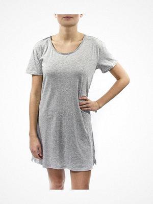 Nattlinnen - Calvin Klein Youthful Sleep Cotton Nightshirt Grey