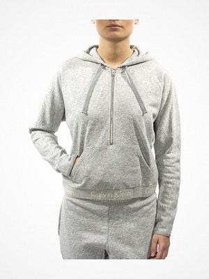 Calvin Klein Body Half Zip Hoodie Grey