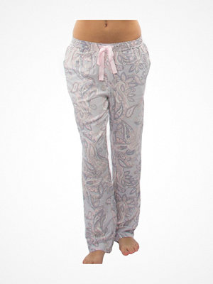 Damella Paisley Print Pants Pink Pattern