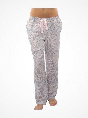Pyjamas & myskläder - Damella Paisley Print Pants Pink Pattern