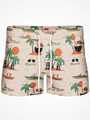 Frank Dandy Breeze Long Magaluf Swimshorts  Pattern-2