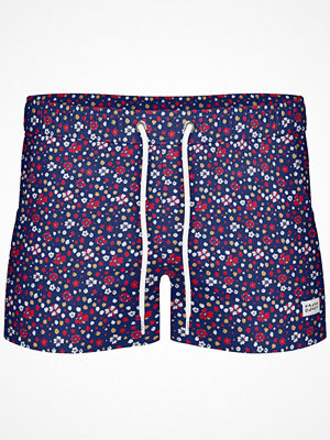 Badkläder - Frank Dandy Breeze Long Blume Swimshorts  Pattern-2