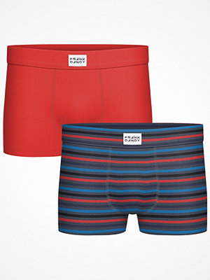 Frank Dandy 2-pack Bamboo Print Trunk Red Pattern-2