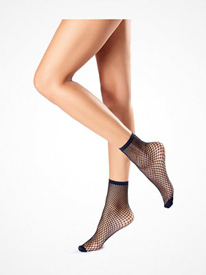 Oroblu Demi-Bas Regular Fishnet Socks Black