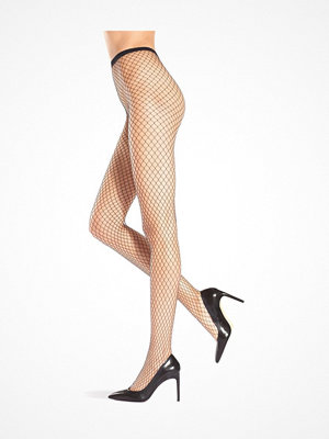 Strumpbyxor - Oroblu Carry Fishnet Tights Black