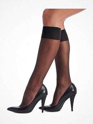 Strumpbyxor - Oroblu Mi-Bas Jeune 20 Sheer Knee-Highs Black
