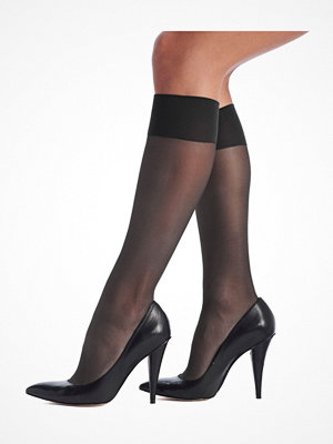 Strumpbyxor - Oroblu Mi-Bas Jeune 20 Sheer Knee-Highs Darkgrey