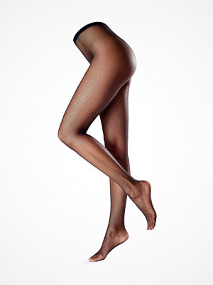 Strumpbyxor - Oroblu Tricot Fishnet Tights Black