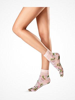Strumpor - Oroblu Flower Picture Socks Pink Pattern