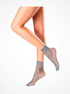 Oroblu Demi-Bas Regular Fishnet Socks Lightblue