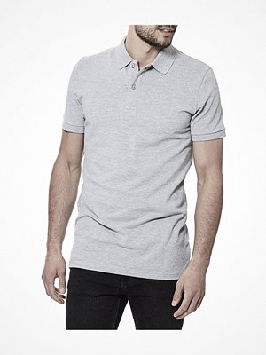 T-shirts - Bread and Boxers Pique Polo Grey