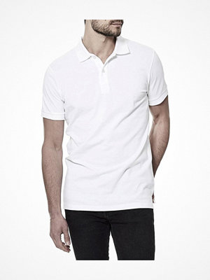 T-shirts - Bread and Boxers Pique Polo White