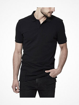 T-shirts - Bread and Boxers Pique Polo Black