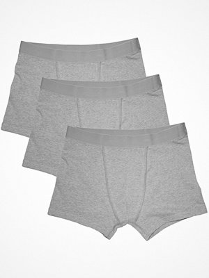 Bread and Boxers 3-pack Boxer Briefs  Grey