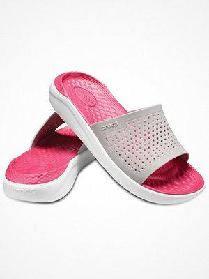 Tofflor - Crocs LiteRide Slide Pink