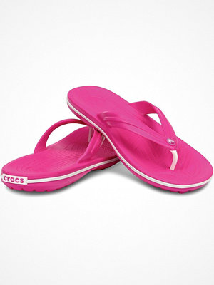 Tofflor - Crocs Crocband Flip Unisex Pink