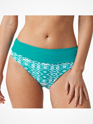 Abecita Ethnic Folded Brief  Green Pattern