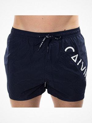 Calvin Klein Core Diagonal Logo Short Drawstring Darkblue