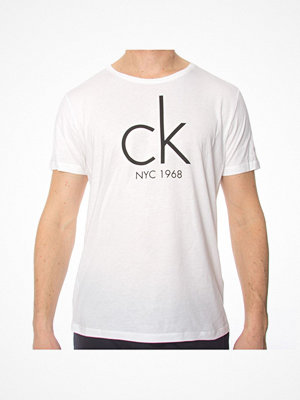 Calvin Klein CK NYC Relaxed Crew Neck Tee White