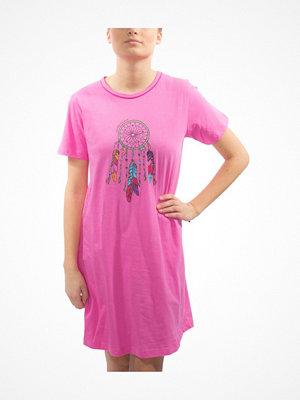 Damella Motif Nightshirt Pink