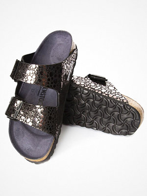 Birkenstock Arizona Metallic Stones Black pattern-2