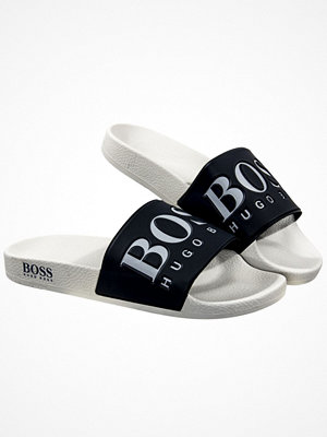 Hugo Boss Slider Sandals Grey
