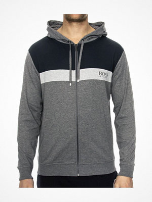 Pyjamas & myskläder - Hugo Boss Homeleisure Jacket Hooded Grey