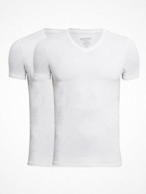 T-shirts - JBS 2-pack Bamboo V-neck T-shirt White