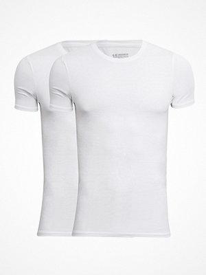 JBS 2-pack Bamboo O-neck T-shirt White