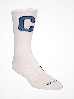 Calvin Klein Omer Jeans Varsity Patch Socks White