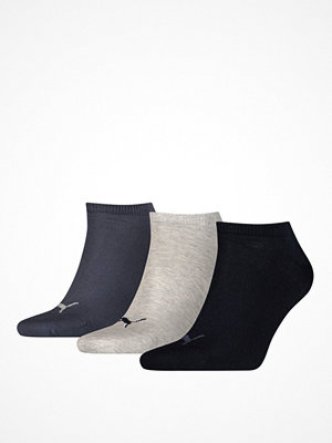 Puma 3-pack Sneaker Socks Navy/Grey