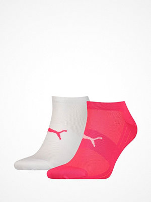 Puma 2-pack Active Lightweight Sneaker Socks White/Pink