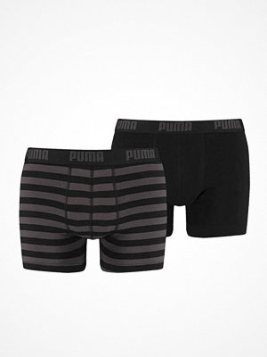 Puma 2-pack Stripe Boxer Black
